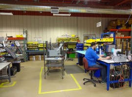 5,740+/- SF of Beautiful High-Tech Light Manufacturing Space