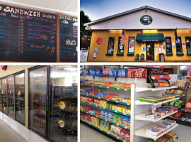 Convenience store and Deli with Gas Pumps