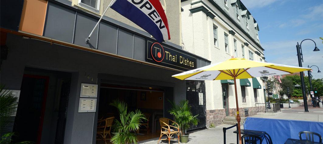Church Street Restaurant Yellow Sign Commercial
